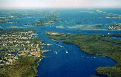 Aerial View of Martin County